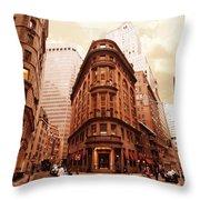 NY2 Throw Pillow