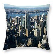 Nyc 1 Throw Pillow