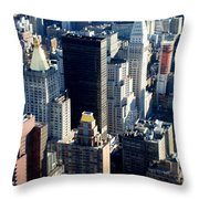 Nyc 2 Throw Pillow
