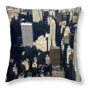 Nyc 5 Throw Pillow