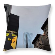 Nyc-and The Other Was Throw Pillow