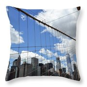 Nyc Catch Me If You Can Throw Pillow