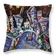 Nyc Impressions 2 Throw Pillow