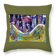Nyc Impressions 4 Throw Pillow
