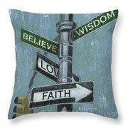 Nyc Inspiration 2 Throw Pillow