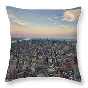 Nyc North Throw Pillow