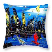 Nycity Throw Pillow