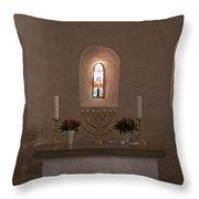 Nyker Round Church Altar Throw Pillow