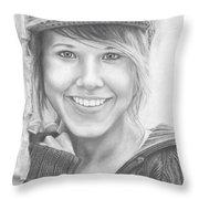 Nyla Stormy Throw Pillow