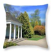 Nymans English Country Garden Throw Pillow