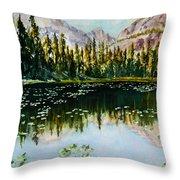 Nymph Lake Throw Pillow
