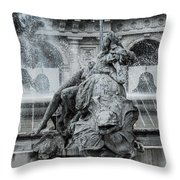 Nymph Of The Rivers Throw Pillow