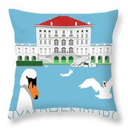Nymphenburg Palace Throw Pillow