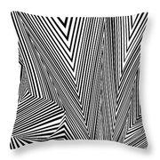 NZT Throw Pillow