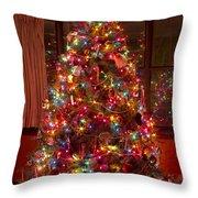 O Christmast Tree Throw Pillow