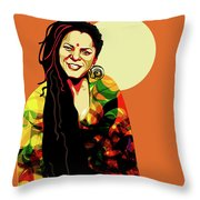 O' Fania Throw Pillow