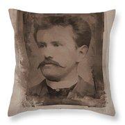 O. Henry Throw Pillow