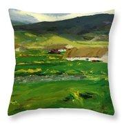 O Malley Home Achill Island County Mayo Ireland 1913 Throw Pillow