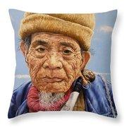 O Mr Mountain Baguio Throw Pillow
