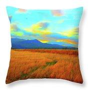 O Prairie Mother Throw Pillow