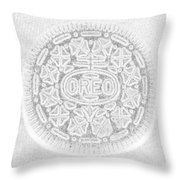 O R E O In White Throw Pillow