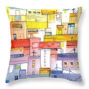 O Town Throw Pillow