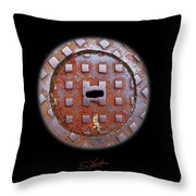 O2 Throw Pillow