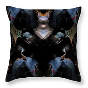 Oa-1935 Throw Pillow