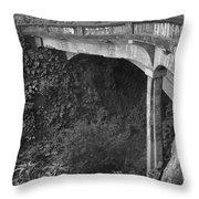Oahu Birdge Throw Pillow