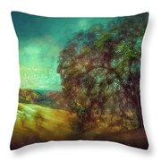 Oak Art Throw Pillow