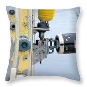 Oak Bluffs Sailor Cropped Throw Pillow