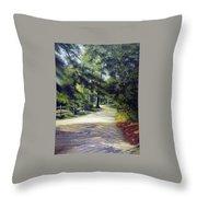 Oak Court, East Marion Throw Pillow