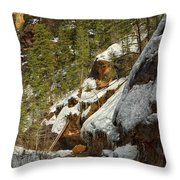 Oak Creek Beckons Throw Pillow