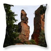 Oak Creek Canyon Throw Pillow