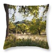 Oak Meadow Throw Pillow