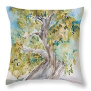 Oak Of The Golden Dream Throw Pillow