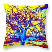 Oak Tree Throw Pillow