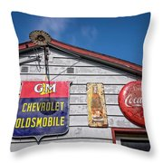 Oakdale Station #2 Throw Pillow