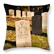 Oakland Cemetery Atlanta Throw Pillow