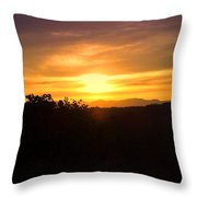 Oakrun Sunset Throw Pillow