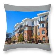 Oakville Property Management Throw Pillow