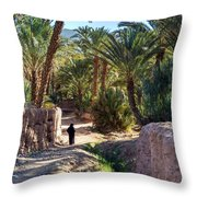 Oasis Coolness Throw Pillow