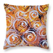 Oat Harvest Throw Pillow