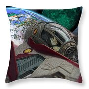 10108 Obi-wan's Starfighter Throw Pillow