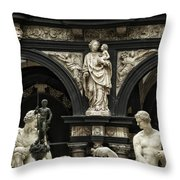 Objects Of Devotion Throw Pillow