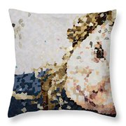 Obliteration Throw Pillow