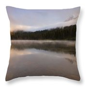 Obscured Dawn Throw Pillow