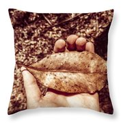 Observation In Human Nature Throw Pillow