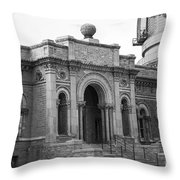 Observatory In Williams Bay Throw Pillow