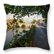 Observer Under The Tree Throw Pillow